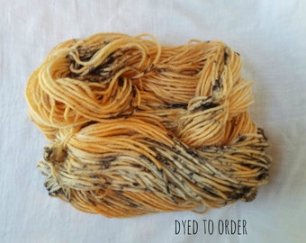 Jack O Lantern - Hand-Dyed / Hand-Painted Yarn - Superwash Merino Wool - Dyed To Order