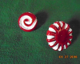 Peppermint Candy Pins!