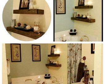 Floating Shelf,  Rustic, Wall Decor, Wall Hanging, Wall Shelf