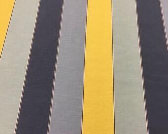 Ashley Wilde 'Lynn' Orange/Grey/Black Designer Fabric - Buy per metre
