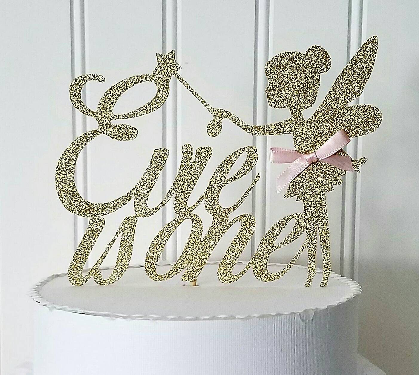 Tinkerbell Cake Topper Canada