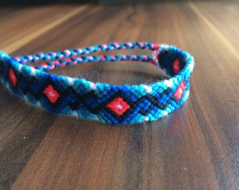 Friendship Bracelet. Hand woven bracelet.Friendship jewelry. Braided Bracelet.Handmade.Wrap bracelet.Native.Aztec.Best friend.Gift