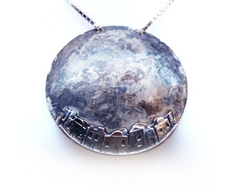 Jerusalem Nights Silver Necklace