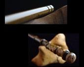 "12"" Wood wand No. 70-300, harry potter wand inspired Magic Wand, wedding wand, Custom Wand, fairy wand, crystal wand, wands, wooden wands"
