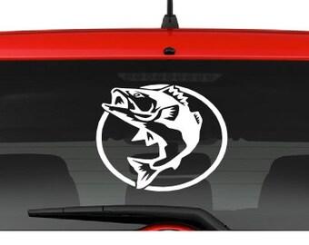 Fish (A15) Vinyl Decal Sticker Car/Truck Laptop/Netbook Window