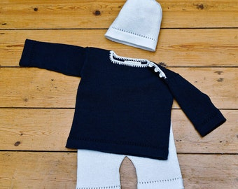 0-12 Months Baby Clothes, Baby's Sailor Suit.