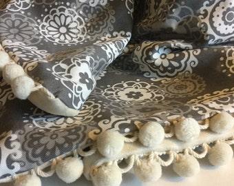Astro Grey Baby Blanket