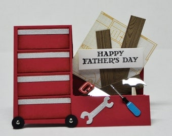 Masculine Birthday/Father's Day Tool Card