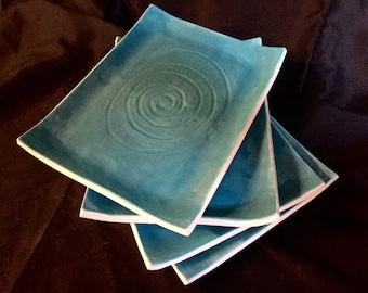 Porcelain Plates- Set of Four