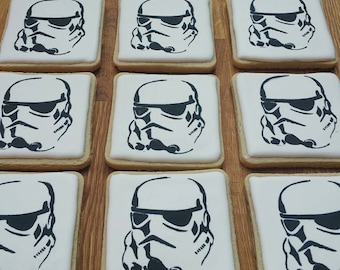 Stormtrooper Sugar Cookies Star Wars Cookies