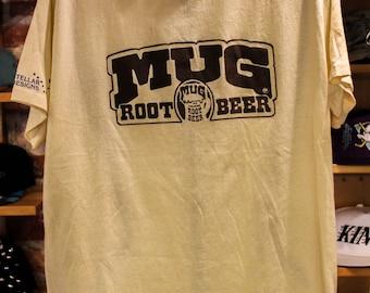 Vtg Mug  Rootbeer T-shirt size XL