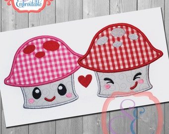 MUSH LOVE Design For Machine Embroidery INSTANT Download