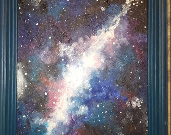 Custom galaxy painting
