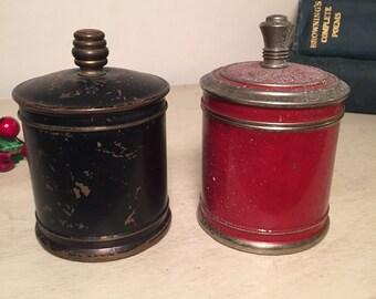 Vintage Chase Brass Cigarette Dispensers 1930s