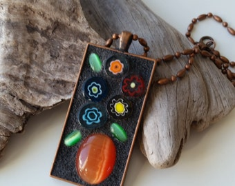 Mosaic Pendant created by LMG