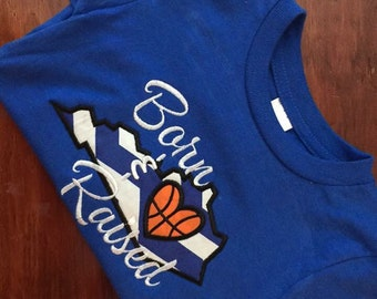 KY Born and Raised Applique Tee