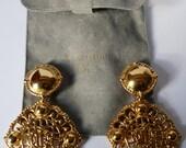 Dior earrings vintage Monogram Dior Dior vintage earrings