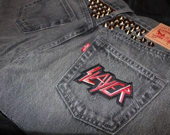 Studded Slayer Shorts