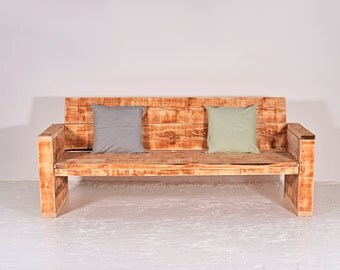 Garden Bench from recycled lumber BARBERA