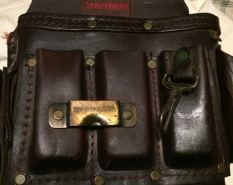 Vintage craftsman 940527 electrician pouch/tool pouch