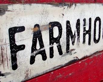 Farmhouse sign- 11x36-fixer upper-joanna gaines-Farmhouse Decor, Farmhouse Sign,urban farmhouse-vintage decor-wood sign-old farmhouse sign