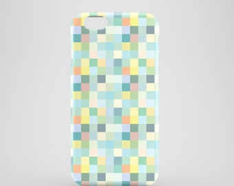 Pastel Pixels iPhone 7 case / pixel iPhone Se case / pastel iPhone 6S case / iPhone 6 / iPhone 5S / iPhone 5