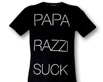 STARLINE LONG t-shirt paparazzi suck male black