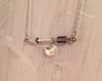 Cupid's Arrow with Swarovski Crystal