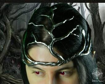 Elvish single tiara for your wedding, Elf,unique,wedding,metal,organic jewelry, gift,headband, crown tiara,woman, gifts,crown,wife