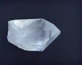 Large quartz crystal point