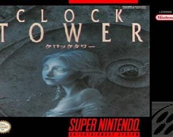 Clock Tower (SNES Repro)
