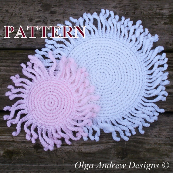 Christmas Doily Crochet Pattern Christmas Coaster Crochet Pattern