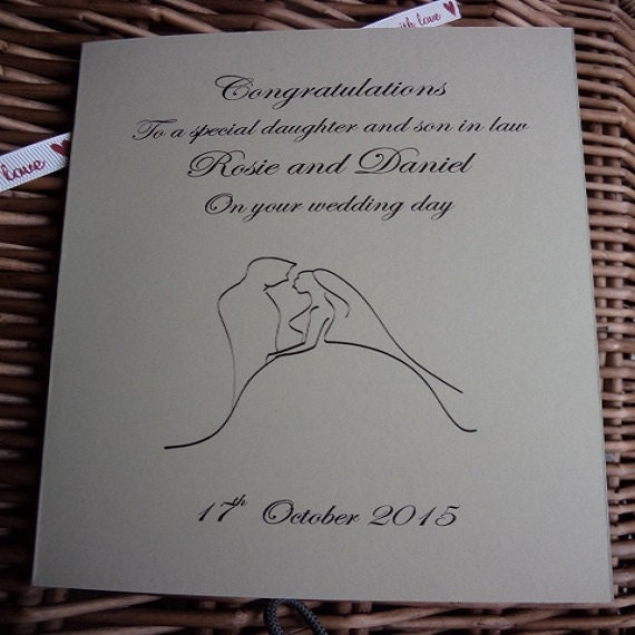 daughters wedding wedding day cards mother of the bride sons