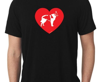 Love Belgian Sheepdog T-Shirt T486