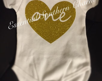 Body suit for 1st Birthday