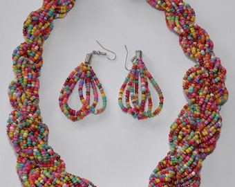 Neckless and Earring Set