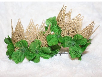 St. Patrick lace crown