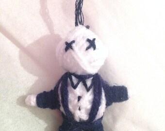 Handmade Voodoo Doll Keychain