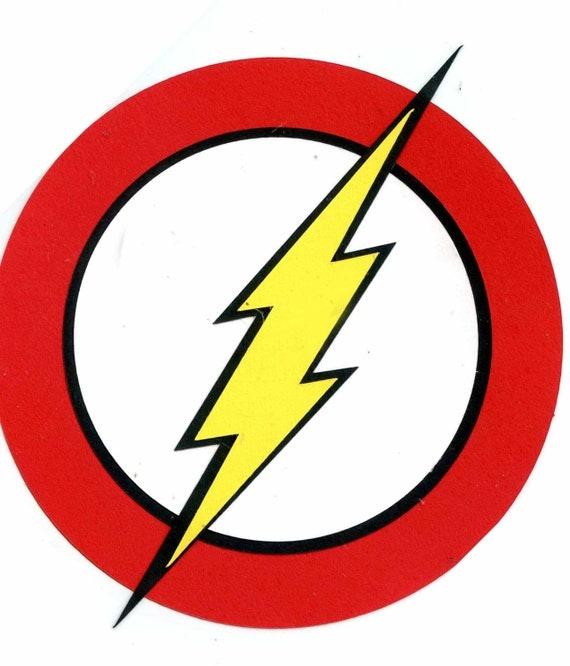 the flash symbol logo scrapbook die cut. Black Bedroom Furniture Sets. Home Design Ideas