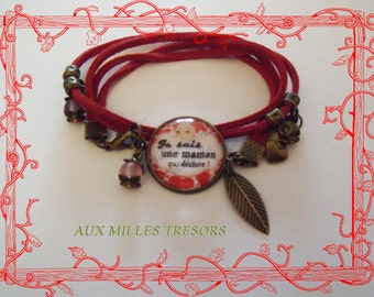 Feast of the mothers MOM bracelet which dechi *.