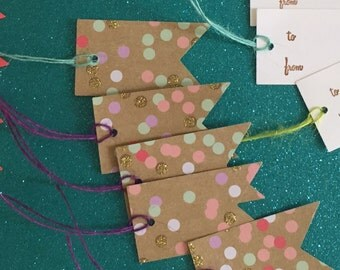 Gift tags • Assorted • For any occasion • Set of 17