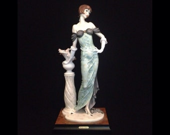 FREE SHIPPING-Fabulous-Made In Italy-Giuseppe Armani-193-C-Morning Rose-Limited Edition-1331/5000-Sculpture