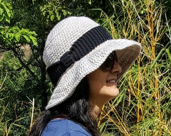 My Crochet Sun Hat - Easy Beginner Crochet Pattern -  pdf - auto download