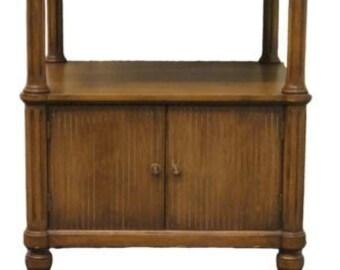 DAVIS CABINET Chambord Walnut Solid Wood Nightstand 476