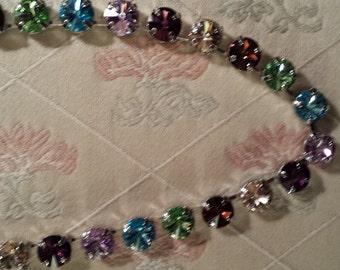 Swarovski Necklace,The Color Me Sultry Choker