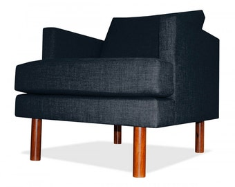 Clark Arm Chair in Midnight