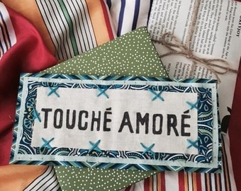 Handmade Touche Amore Patch