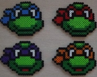 Teenage Mutant Ninja Turtles Perler
