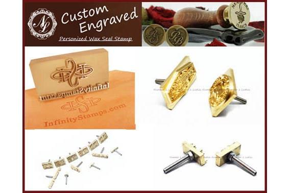 4cm X Custom Made Design Brass Leather Stamp Branding