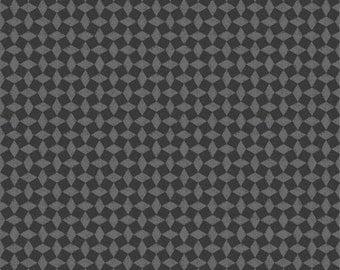 Diamond Black and Gray - SALE 8.99 YARD  - SPX Fabrics - Poulets de Provence by Steve Haskamp - Diamond Check